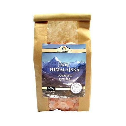 Sól himalajska różowa gruboziarnista 400g