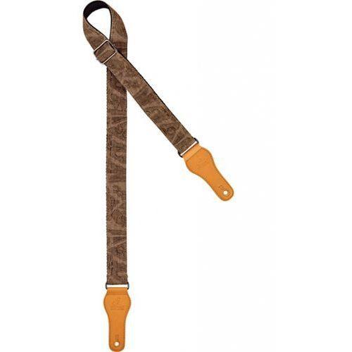 Ortega ocs-310u pasek do ukulele brown jean