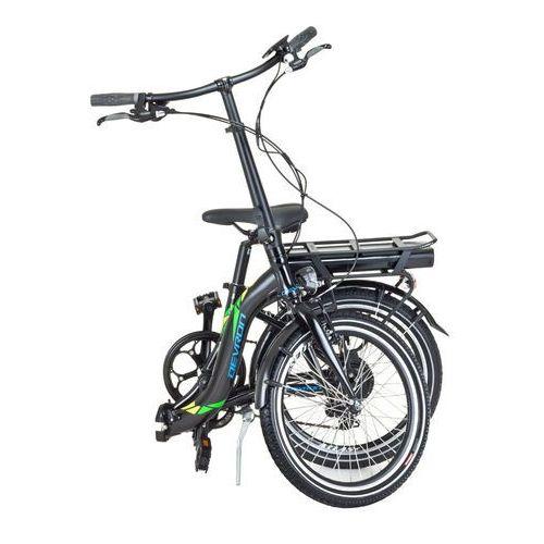 """Devron Składany rower elektryczny 20122 20"""" - model 2017, czarny"""