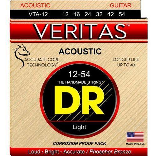 DR VERITAS - struny do gitary akustycznej, Light,.012-.054