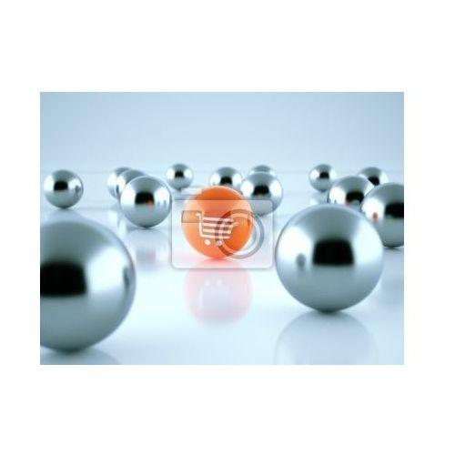 Fototapeta 3D Rendering sklep internetowy Kugeln, myloview z MyLoview