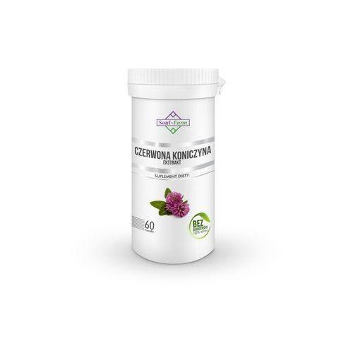 CZERWONA KONICZYNA EKSTRAKT 550 mg 60 KAPSUŁEK - SOUL FARM (5902706731620)