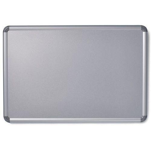 Office akktiv Tablica ścienna design, lakierowanie na kolor srebrny, szer. x wys. 900x600 mm.