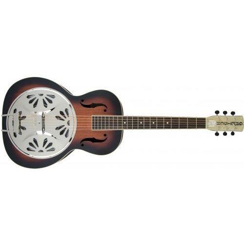 Gretsch g9220 bobtail round-neck a.e., mahogany body spider cone resonator guitar gitara akustyczna