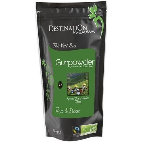 Herbata zielona gunpowder 100g - destination marki 211destination