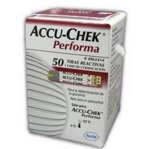 Accu-chek performa 50 testów pask. wyprodukowany przez Roche diagnostics gmbh niemcy