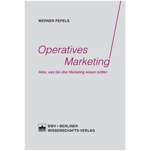 Operatives Marketing Pepels, Werner