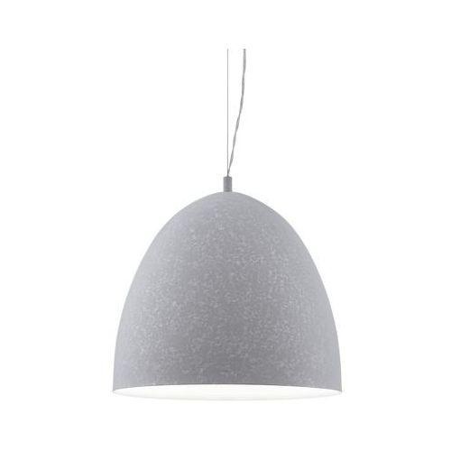 Lampa wisząca sarabia 94354 metalowa oprawa zwis szary marki Eglo