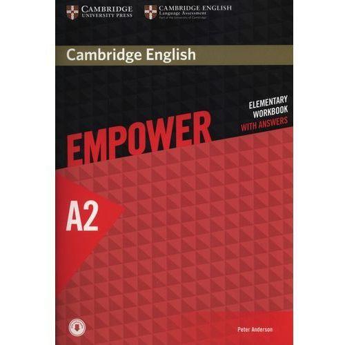 Cambridge English Empower Elementary Workbook with Answers with Downloadable Audio, oprawa miękka