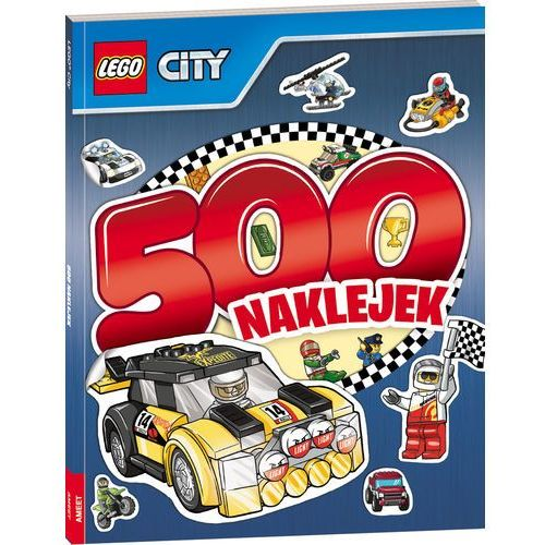 Lego City 500 naklejek, towar z kategorii: Naklejki