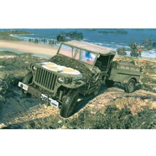 US 1/4 Ton Truck & Trailer Heller 79997 (3279510799972)
