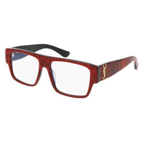 Okulary korekcyjne sl m6 004 marki Saint laurent