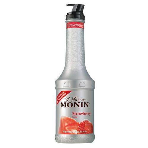 Puree strawberry - truskawka 1l marki Monin