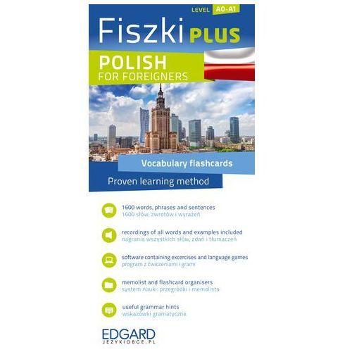Fiszki PLUS Polish for Foreigners - Wysyłka od 3,99 - porównuj ceny z wysyłką, oprawa kartonowa