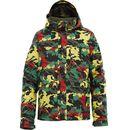 Produkt z kategorii- kurtki dla dzieci - Kurtka snowboardowa Burton Sludge rasta clouds 2011/2012 kids