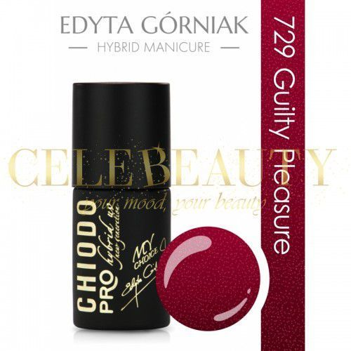 CHIODO PRO RED COLOR 729 GUILTY PLEASURE 7ML, C5B9-458EE