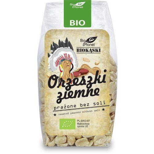 Orzechy ziemne prażone bez soli bio 150 g - bio planet marki Bio planet - seria brązowa (orzechy i pestki)
