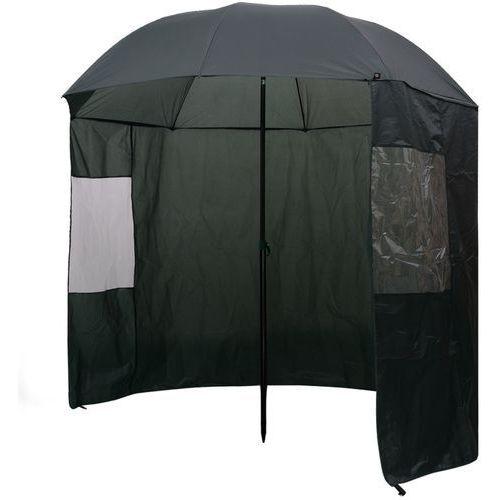 parasol wędkarski / na ryby zielony 240x210 cm marki Vidaxl