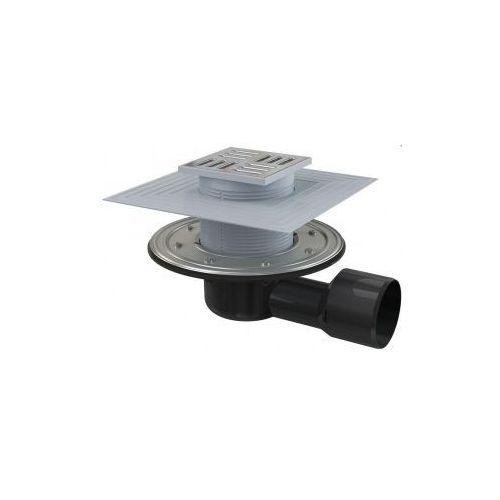 Kratka ściekowa 105x105 mm odpływ boczny Alcaplast APV3344 - oferta [05fd4872877546f0]