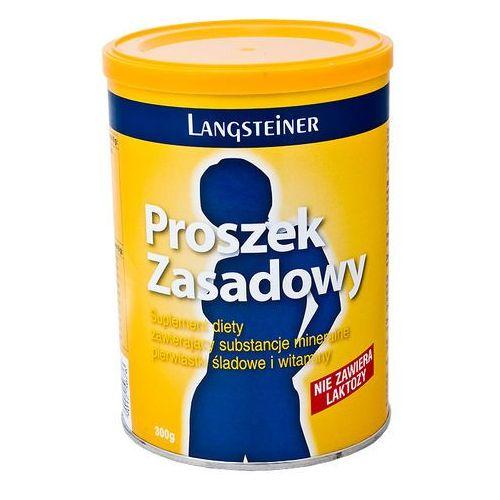 Oferta Langsteiner Proszek zasadowy - minerały pierwiastki witaminy bez laktozy 300g z kat.: zdrowie
