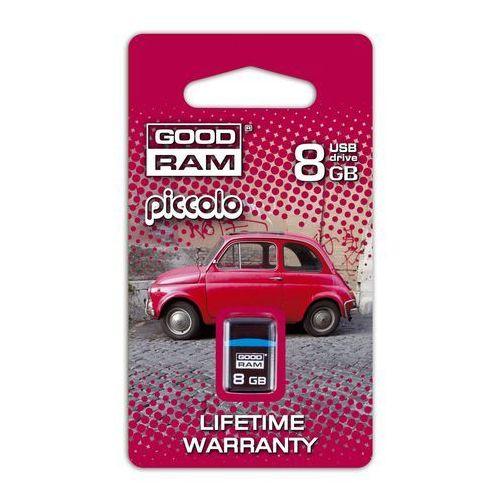 Pendrive GoodRam Piccolo 4GB Czarny PD4GH2GRPIKR10 Darmowy odbiór w 15 miastach!, kup u jednego z partnerów