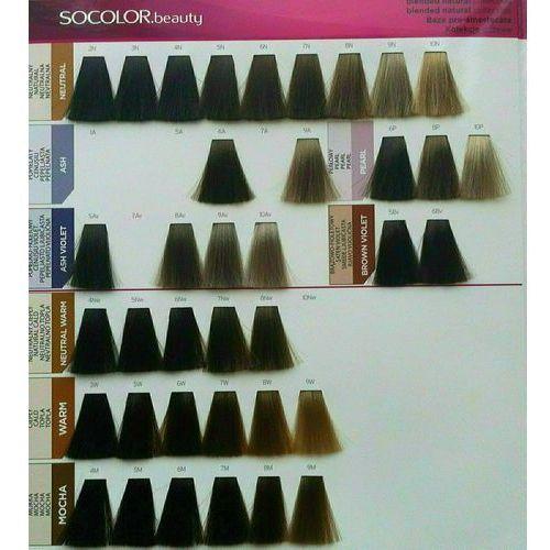 Matrix Socolor Beauty pielęgnująca farba do włosów odcień 5M (Light Brown Mocha) 90 ml (3474630325609)