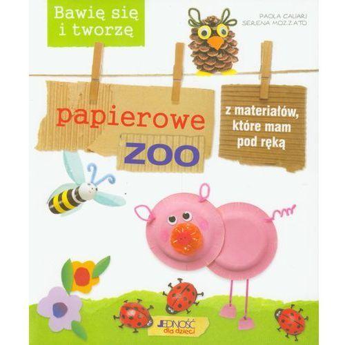 Bawię się i tworzę papierowe zoo z materiałów, które mam pod ręką, Caliari Paola|Serena Mozzato