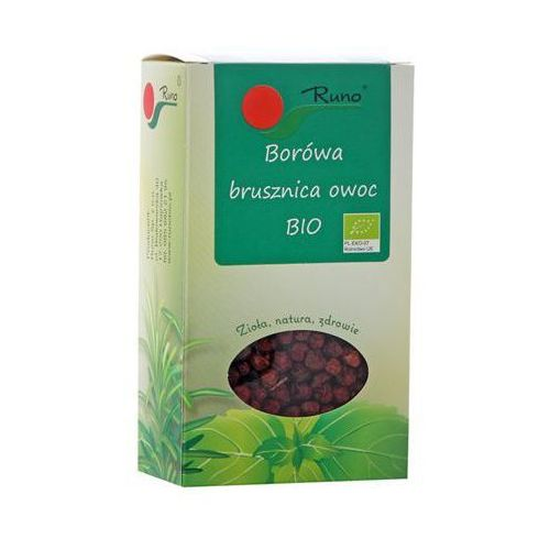 50g borówka brusznica owoc bio marki Runo