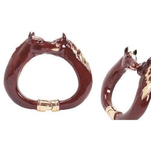 Pasotti Mosiężna bransoletka br k45mo - luksusowa bransoletka, horses