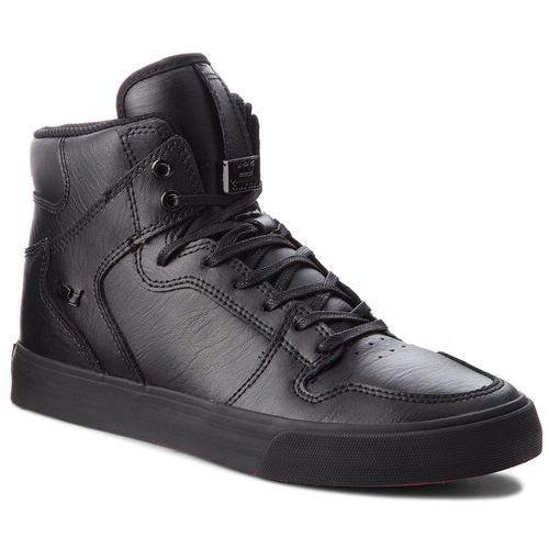 Sneakersy - vaider 08201-081-m black/black/red, Supra, 40.5-44