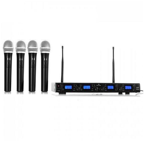 UHF-550 Quartett1 4-kanałowy zestaw mikrofonów UHF