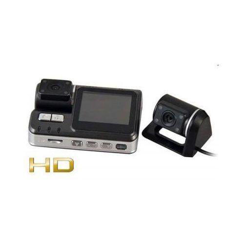 """2w1!! Kamera Samochodowa HD + Druga Kamera Zewnętrzna/Cofania + Ekran LCD 2""""..."""