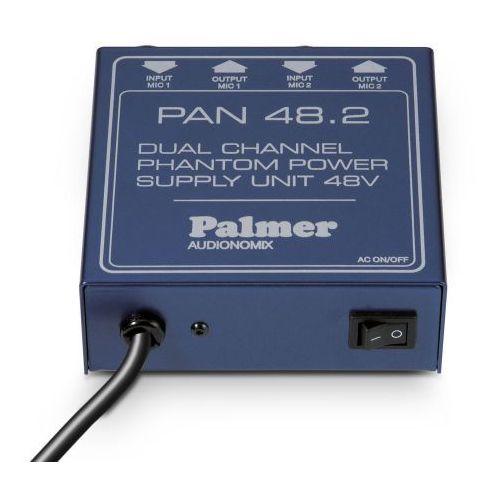 Palmer pro pan 48 2-kanałowe urządzenie do zasilania phantom