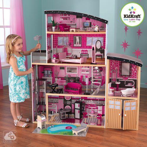Domek dla lalek KidKraft Sparkle Mansion 65826 (domek dla lalek) od wonder-toy.com