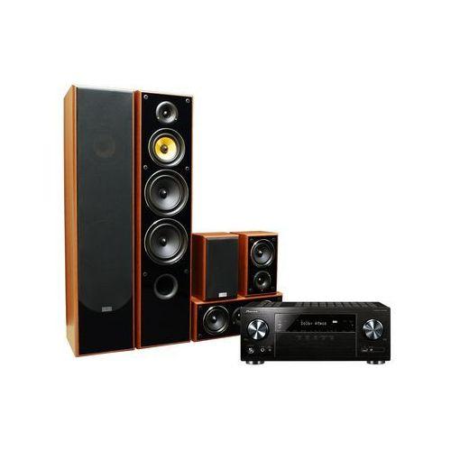 Kino domowe vsx-832b + taga tav606 orzech + słuchawki pioneer gratis! + darmowy transport! marki Pioneer