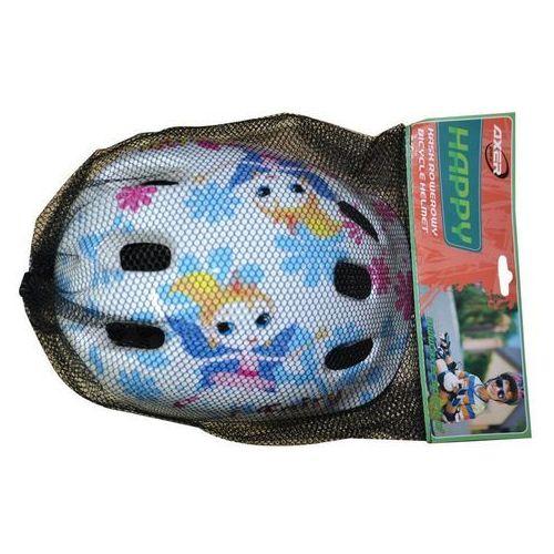 Kask rowerowy dla dzieci Happy Frezja, marki Axer Bike do zakupu w FiveSport.pl