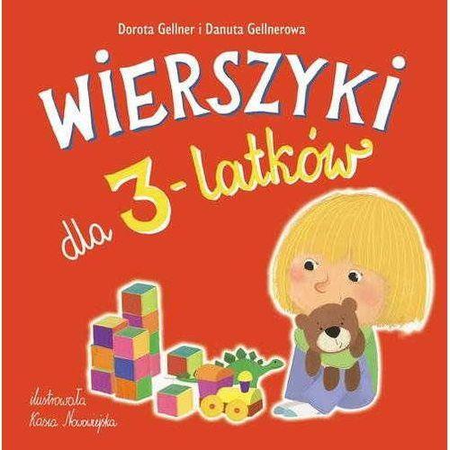 Wierszyki dla 3-latków (9788377589410)