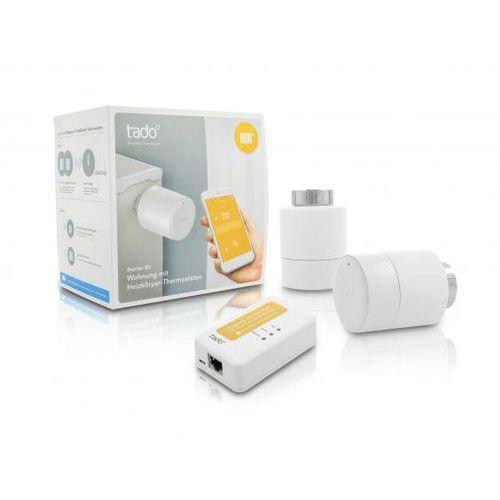 Tado - inteligentny zestaw startowy z głowicami termostatycznymi marki Pioneer