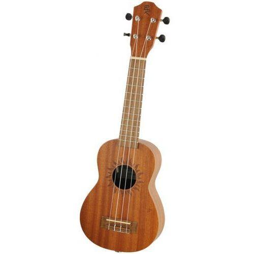 v2 sw sun ukulele sopranowe elektroakustyczne limited edition marki Baton rouge