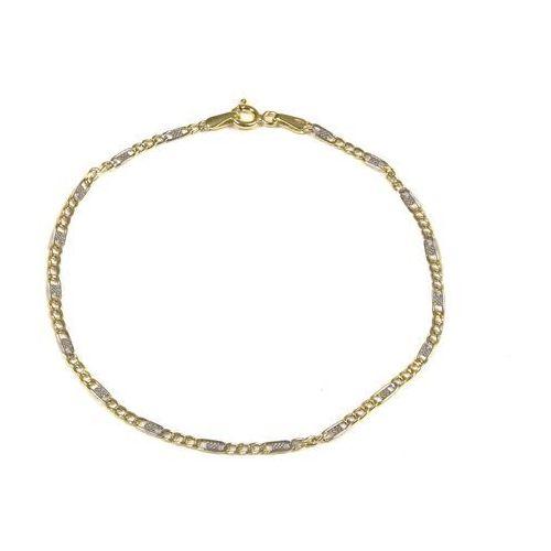 Bransoletka złota ZB.A.104.01 SAXO Biżuteria damska ze złota PR.585 14 Karat