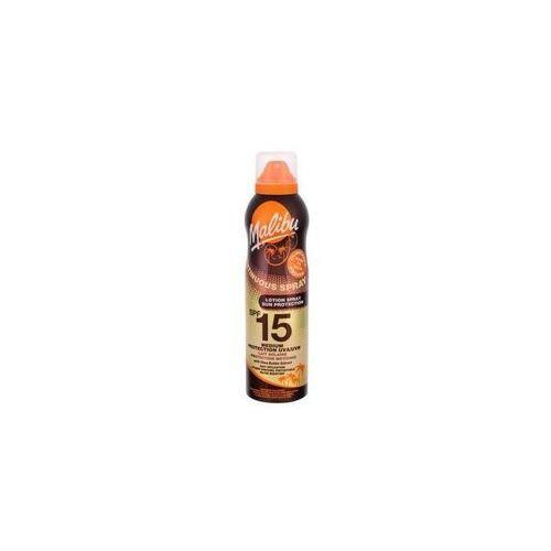 continuous spray spf15 preparat do opalania ciała 175 ml dla kobiet marki Malibu