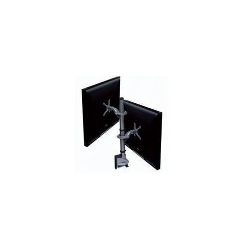 Hafele Ellipta Zest Short 2 - Uchwyt biurkowy na 2 monitory, max. 24' z kategorii Uchwyty i ramiona do TV