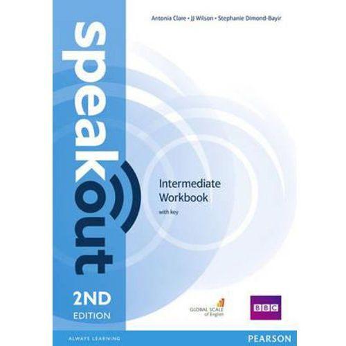 Speakout 2ed Intermediate Workbook with key-mamynastanie,wyślemyjuż...., oprawa miękka