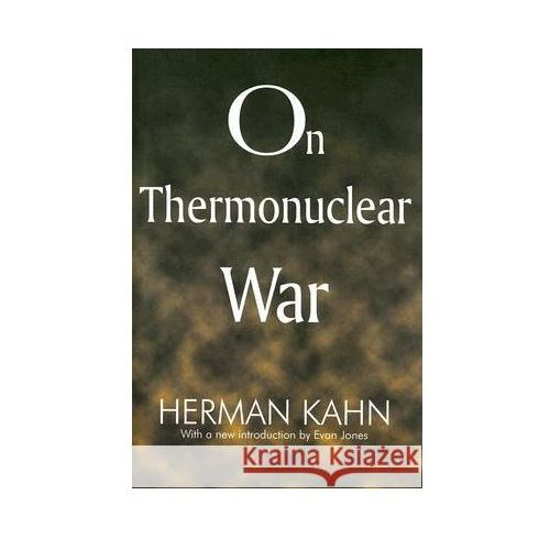 On Thermonuclear War (9781412806640)