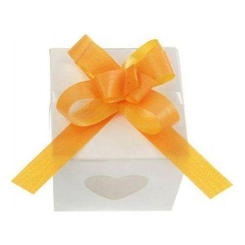 Wstążki ściągane na ślub - mango 1 cm 50 szt. marki Party deco