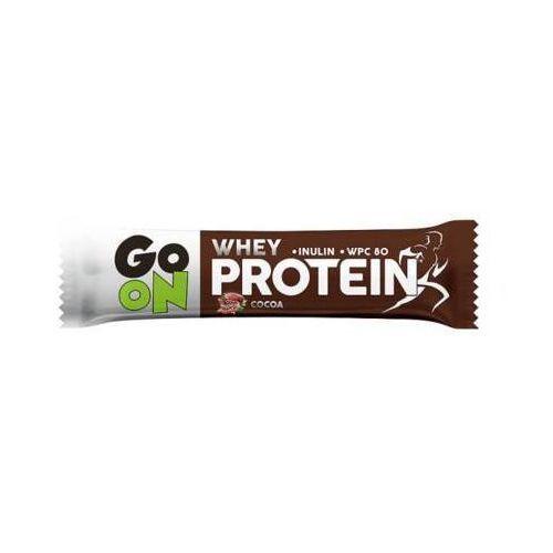 Sante Go on 50g protein cocoa baton wysokobiałkowy kakaowy z inuliną w czekoladzie mlecznej