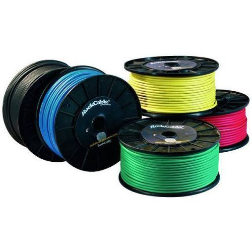Rockcable przewód mikrofonowy - cable roll, diameter 7 mm, 100 m / 328 ft., yellow