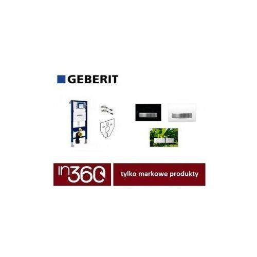 Geberit zestaw stelaż podtynkowy duofix Sigma H112 z przyciskiem Sigma50 czarnym (111.320.00.5 +111.815.00.1 +12345678 +115.788.DW.5) IN.000S324 - produkt z kategorii- Stelaże i zestawy podtynkowe