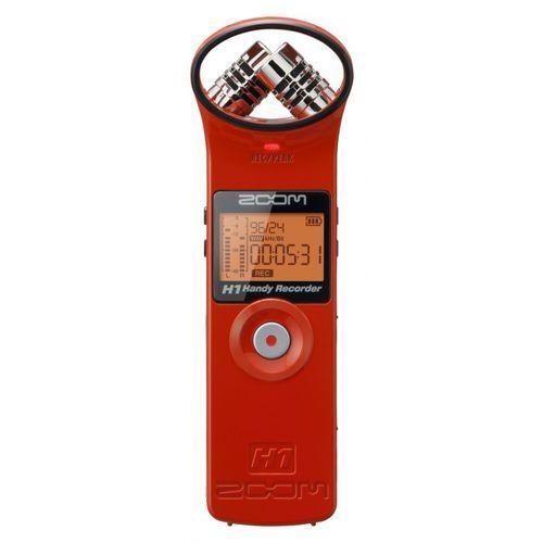 Zoom h1 red edition cyfrowy rejestrator czerwony