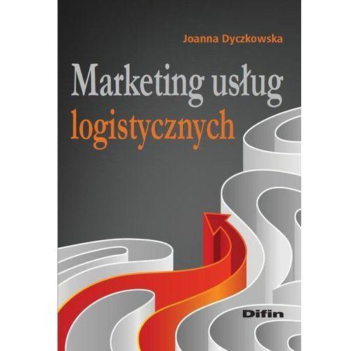 Marketing usług logistycznych, oprawa miękka